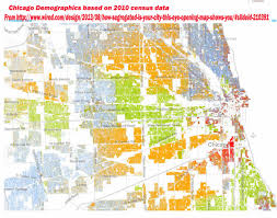 Chicago Ward Map Mapping For Justice New Maps Showing Racial Distribution In Chicago