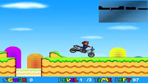 super mario moto minijuegos reto personal