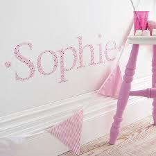 personalised pink twinkle wall letter sticker wall stickers personalised pink twinkle wall letter sticker
