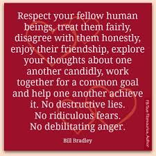 Paper on respecting others    Treat Others the Way You Want to be