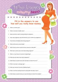 who knows the best free printable baby shower who knows the best wedding