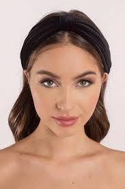 velvet headband pippa black velvet headband s 38 tobi sg
