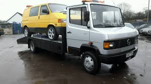 mercedes work truck mercedes 811d recovery truck test ready for work in