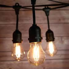 Outdoor Commercial Lights Edison Lights String Suspended Socket Vintage Outdoor Commercial