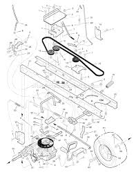 murray 46569x9a parts list and diagram 1998