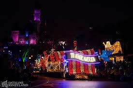 American Flag Christmas Lights Disneyland U0027s Iconic Main Street Electrical Parade Returns Home