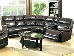 modern bonded leather sectional sofa leather sectional sofas with recliners reclining sectional 4087