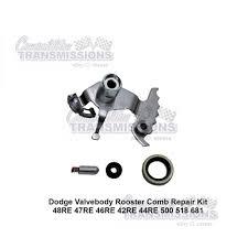 dodge 48re valve body rooster comb u0026 detent bore repair u0026 seal kit