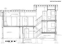front to back split house 5 level split house plan modern at awesome front back plans design