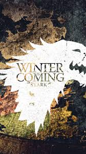 winter is coming game of thrones stark android wallpaper free download