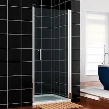 760mm frameless hinged shower door