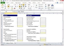 best photos of balance sheet excel spreadsheet simple balance