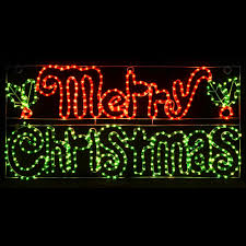 led merry christmas light sign merry christmas led light decoration indoor outdoor