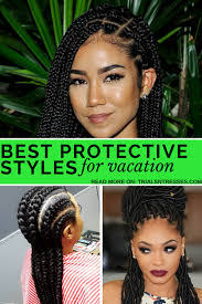 hair styles for vacation best protective styles for vacation trials n tresses