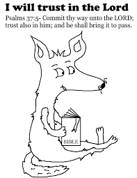 church house collection blog trust in the lord coloring page