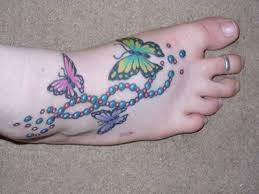 foot tattoo designs girls tattoo pictures