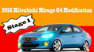 mitsubishi attrage bodykit stage 1 modification for mitsubishi mirage g4 sedan spotted youtube