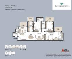 floor layout plans emaar mgf palm gardens floor plan floorplan in