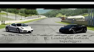 f430 vs lamborghini gallardo forza motorsport 4 battle s1 e11 430 scuderia vs