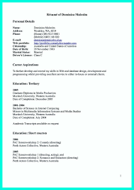 Resume For Ojt Computer Science Student Amazing Area Of Interest In Computer Science In Resume Pictures