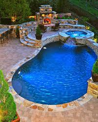 fantastic beautiful backyard pools also interior home ideas color