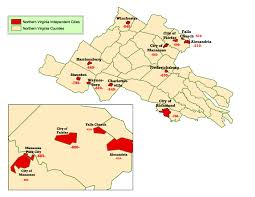 Virginia State Map With Cities by Wims County Id Maps