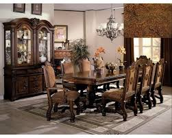 Cheap Formal Dining Room Sets Neo Renaissance Elegant 7pc Dining Room Set