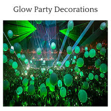 glow in the party decorations decoration and party ideas hq
