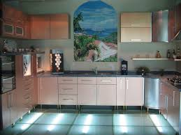 white small kitchen countertops with single wall kitchens space