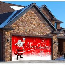 neat winter design ideas for your garage door