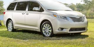 toyota sienna toyota sienna gets more power higher price for 2017