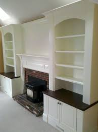 white built in bookcases around fireplace picture yvotube com