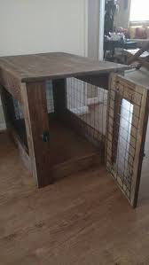 How To Build End Table Dog Crate by Wooden Table Dog Crate Cover Creative U0026 Crafty Pinterest