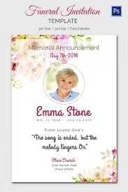 funeral service announcement wording memorial service invitation we like design