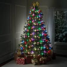 ledhristmas tree lights walmart green white wirebright