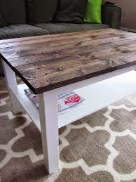 wood plank coffee table coffee table makeover wood plank table top ikea hack plank