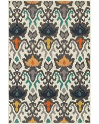 Teal Area Rug 5x8 Deals On Ivory Abstract Walker Area Rug 5x8