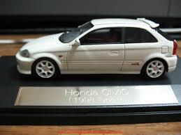 honda car models car news ok honda civic type r 1998 ek9 scale model