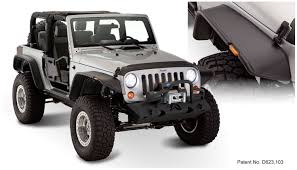 rubicon jeep black amazon com bushwacker 10919 07 jeep flat style fender flare set