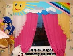 Curtains Curtain Ideas For Kids Room Designs  Best Kids Rooms On - Kids room curtain ideas
