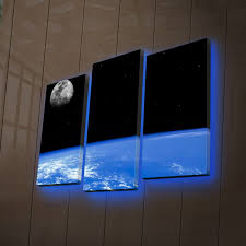wallity led canvas touch of modern