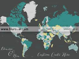 Printable World Map With Countries by Custom Quote World Map With Countries Us States Canadian