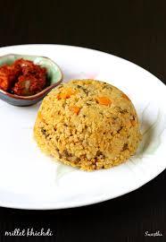cuisine milet millet khichdi recipe foxtail millet khichdi korra biyyam khichdi