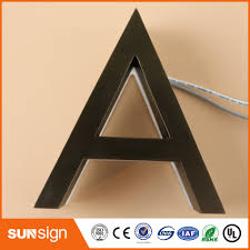 online shop custom 3d acrylic led letters sign outdoor customized