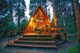 idyllcreek a frame cabin vacation rental cabins in idyllwild ca