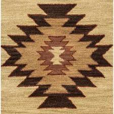 round southwestern area rugs rugs the home depot