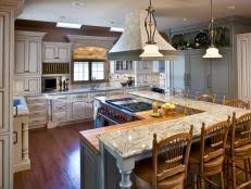 kitchen table island combination kitchen island table combo pictures ideas from hgtv hgtv