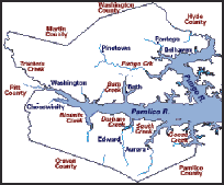 map of beaufort county sc beaufort co nc maps