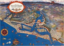 Santa Ana California Map O C History Roundup Newport Harbor And Claude G Putnam