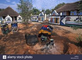 south africa mapoch ndebele near pretoria cooking